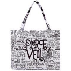Pierce The Veil Music Band Group Fabric Art Cloth Poster Mini Tote Bag