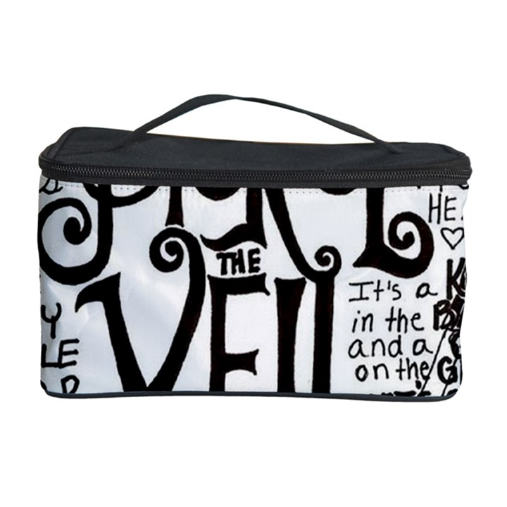 Pierce The Veil Music Band Group Fabric Art Cloth Poster Cosmetic Storage Case