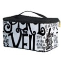 Pierce The Veil Music Band Group Fabric Art Cloth Poster Cosmetic Storage Case View3