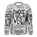 Pierce The Veil Music Band Group Fabric Art Cloth Poster Men s Long Sleeve Tee View1