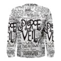 Pierce The Veil Music Band Group Fabric Art Cloth Poster Men s Long Sleeve Tee View2