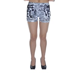 Pierce The Veil Music Band Group Fabric Art Cloth Poster Skinny Shorts