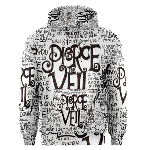 Pierce The Veil Music Band Group Fabric Art Cloth Poster Men s Pullover Hoodie