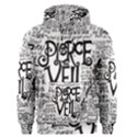 Pierce The Veil Music Band Group Fabric Art Cloth Poster Men s Pullover Hoodie View1