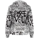 Pierce The Veil Music Band Group Fabric Art Cloth Poster Women s Pullover Hoodie View2