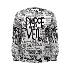 Pierce The Veil Music Band Group Fabric Art Cloth Poster Women s Sweatshirt