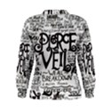 Pierce The Veil Music Band Group Fabric Art Cloth Poster Women s Sweatshirt View2