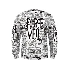 Pierce The Veil Music Band Group Fabric Art Cloth Poster Kids  Sweatshirt