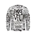 Pierce The Veil Music Band Group Fabric Art Cloth Poster Kids  Sweatshirt View1