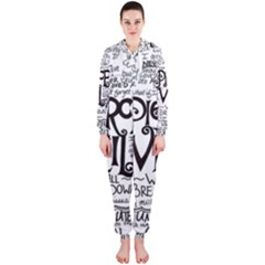 Pierce The Veil Music Band Group Fabric Art Cloth Poster Hooded Jumpsuit (ladies)