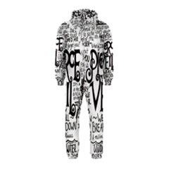 Pierce The Veil Music Band Group Fabric Art Cloth Poster Hooded Jumpsuit (Kids)