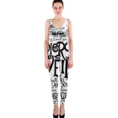 Pierce The Veil Music Band Group Fabric Art Cloth Poster OnePiece Catsuit