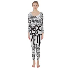 Pierce The Veil Music Band Group Fabric Art Cloth Poster Long Sleeve Catsuit
