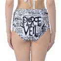 Pierce The Veil Music Band Group Fabric Art Cloth Poster High-Waist Bikini Bottoms View2