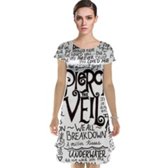 Pierce The Veil Music Band Group Fabric Art Cloth Poster Cap Sleeve Nightdress