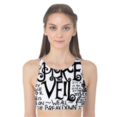 Pierce The Veil Music Band Group Fabric Art Cloth Poster Tank Bikini Top