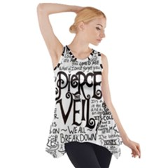 Pierce The Veil Music Band Group Fabric Art Cloth Poster Side Drop Tank Tunic
