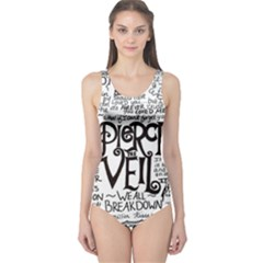 Pierce The Veil Music Band Group Fabric Art Cloth Poster One Piece Swimsuit