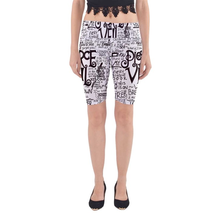 Pierce The Veil Music Band Group Fabric Art Cloth Poster Yoga Cropped Leggings