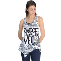 Pierce The Veil Music Band Group Fabric Art Cloth Poster Sleeveless Tunic