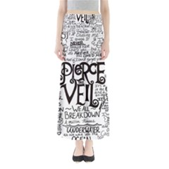 Pierce The Veil Music Band Group Fabric Art Cloth Poster Maxi Skirts