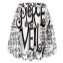 Pierce The Veil Music Band Group Fabric Art Cloth Poster High Waist Skirt View2