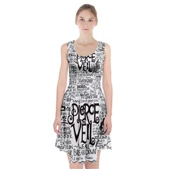 Pierce The Veil Music Band Group Fabric Art Cloth Poster Racerback Midi Dress