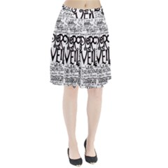 Pierce The Veil Music Band Group Fabric Art Cloth Poster Pleated Skirt