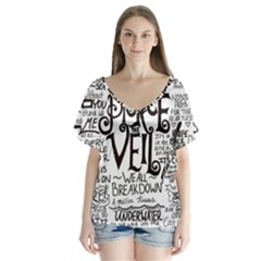 Pierce The Veil Music Band Group Fabric Art Cloth Poster Flutter Sleeve Top