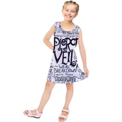 Pierce The Veil Music Band Group Fabric Art Cloth Poster Kids  Tunic Dress