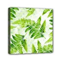 Fern Leaves Mini Canvas 6  x 6  View1