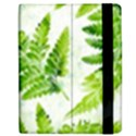 Fern Leaves Apple iPad 3/4 Flip Case View2
