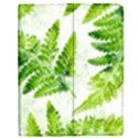Fern Leaves Apple iPad Mini Flip Case View1