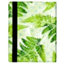 Fern Leaves Apple iPad Mini Flip Case View3
