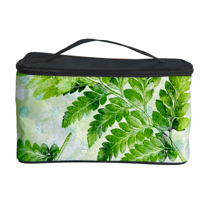 Fern Leaves Cosmetic Storage Case