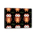 Halloween brown owls  Mini Canvas 7  x 5  View1