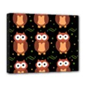 Halloween brown owls  Deluxe Canvas 20  x 16   View1
