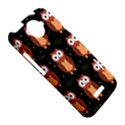 Halloween brown owls  HTC One X Hardshell Case  View5