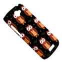 Halloween brown owls  HTC One S Hardshell Case  View5