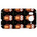 Halloween brown owls  HTC Desire HD Hardshell Case  View1