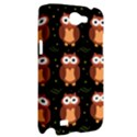 Halloween brown owls  Samsung Galaxy Note 2 Hardshell Case View2