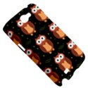 Halloween brown owls  Samsung Galaxy Note 2 Hardshell Case View5