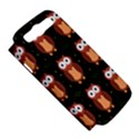 Halloween brown owls  Samsung Galaxy S III Hardshell Case (PC+Silicone) View5