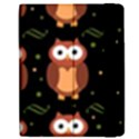 Halloween brown owls  Apple iPad 2 Flip Case View2