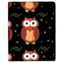 Halloween brown owls  Apple iPad 3/4 Flip Case View1