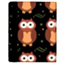 Halloween brown owls  Apple iPad 3/4 Flip Case View3