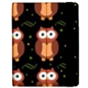 Halloween brown owls  Apple iPad Mini Flip Case View2