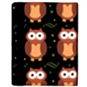 Halloween brown owls  Apple iPad Mini Flip Case View3