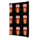 Halloween brown owls  Apple iPad Mini Hardshell Case View3