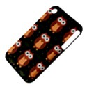 Halloween brown owls  Apple iPhone 3G/3GS Hardshell Case (PC+Silicone) View4